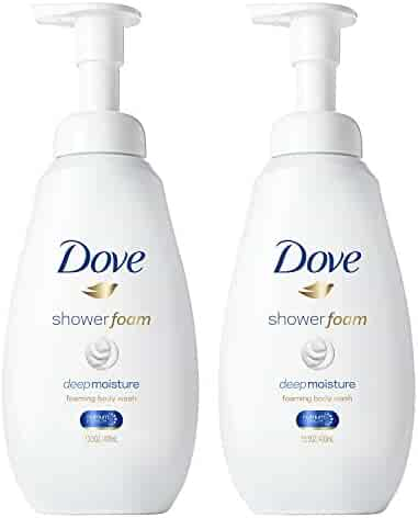 Dove Shower Foam Deep Moisture 13.5 oz, 2 count