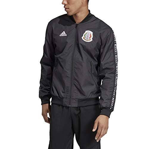 (adidas Men's FMF Mexico Anthem Jacket (Large))