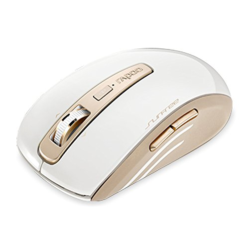 RAPOO M3920P GOLD Wireless SurFree Surfaces