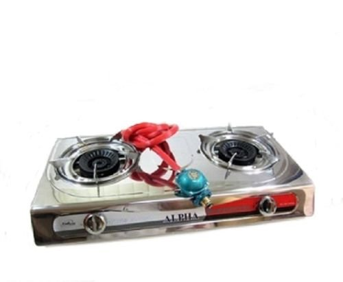 Portable Propane Double Burner Camping Gas Stove T Gate 2 LP (2 Burner Ignition Stove)