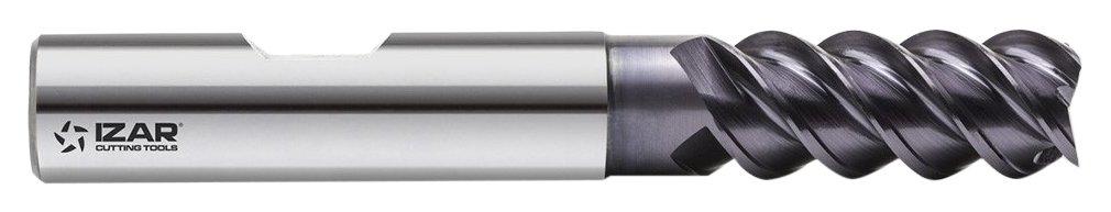 IZAR 45276-Fresa-SUPER Finitura PMX DIN844N 4Z TIALCN 10, 00 mm