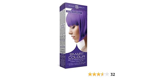 Smart Color Semi-Permanente Puro Pelo Morado para Colorear