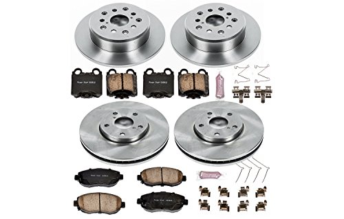 Lexus Sc430 Rotor - Autospecialty KOE1079 1-Click OE Replacement Brake Kit