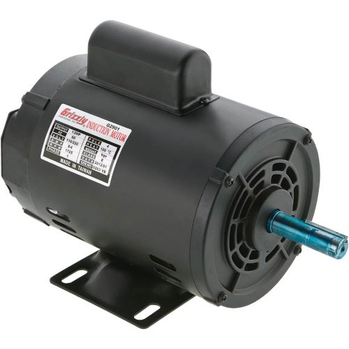 Grizzly G2905 Single-Phase Motor, 1 HP by Grizzly