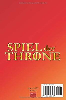 Spiel der Throne: Ein Notizbuch für alle Game of Thrones GOT Fans und Siedler von Catan Fans - Für Catan Junior Spieler - Notizbuch für Brettspiele - Inhaltsverzeichnis - Liniert - Softcover: