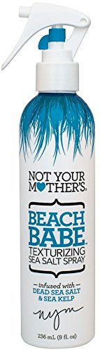 Beach Salt (Not Your Mother's Beach Babe Texturizing Sea Salt Spray 8 Ounce 3 Pack)