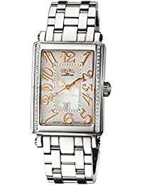 Woman's 'Ave Of Americas Mezzo' Quartz and Stainless Steel Diamond Watch