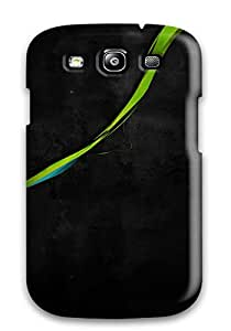Galaxy S3 Abstract Vector Print High Quality Tpu Gel Frame Case Cover