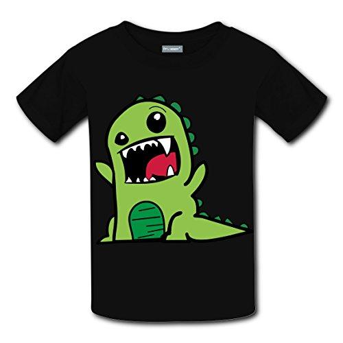 Captain Underpants Costumes Ideas (Cute Cartoon Dinosaur Coustom Unisex Kids Sport Short Sleeve T-Shirt Soft Tee Tops S)