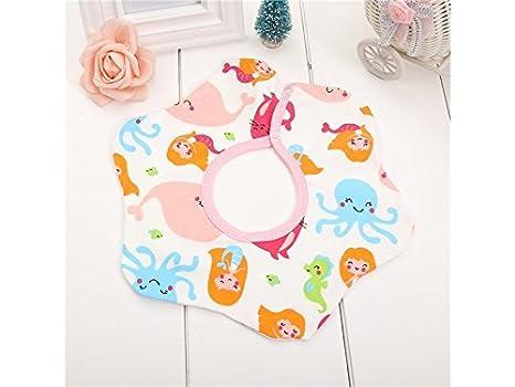 TjcmSs Bonita toalla de saliva para bebé, para bebés de 0 a 5 años (