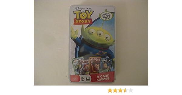 Disney / Pixar Toy Story 3 Tin of 4 Card Games