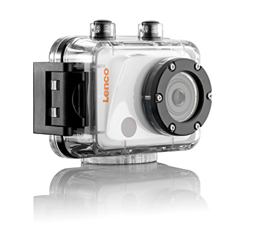 Lenco Sportcam-400 HD 5MP Full HD CMOS 71g cámara para Deporte de acción - Cámara Deportiva (Full HD AVIMOV CMOS 5 MP JPG LCD)