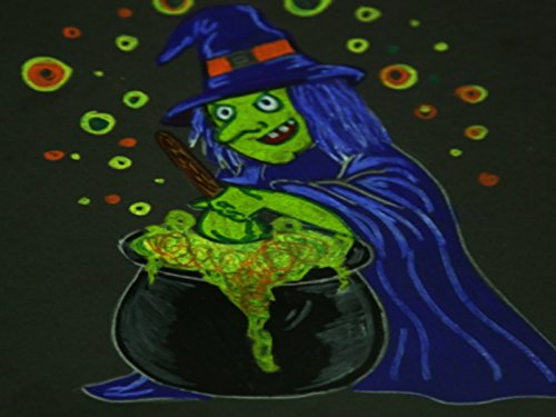 Let's Draw a Wicked Witch -