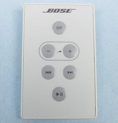 Bose SoundDock Original Digital Music System Remote Control (White) ()