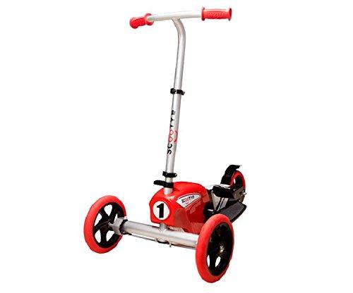 Scooty B Splitty Scoot - Red