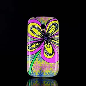 LHY Flower Pattern Hard Case for Samsung Galaxy S3 Mini I8190