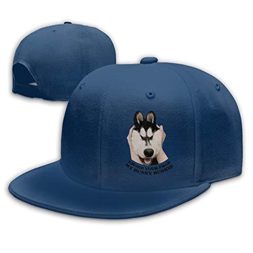 Huskies Huskie Head - Unisex Adjustable Hip Hop Hat, Choke Your Face My Husky Huskie Logo