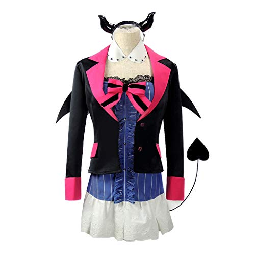 DUNHAO COS Anime Women's Love Live! Toujou Nozomi Uniform Suit Cosplay Dress Costume M Blue ()