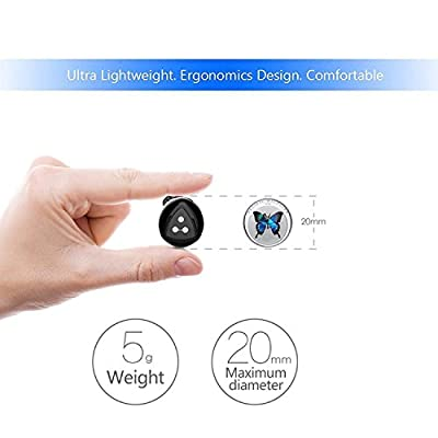 Wireless Earbuds, Syllable Truly Wireless Headphones with charging box Noise Cancelling Sweatproof Bluetooth Earphones for iPhone iPad,Smartphones Tablets, Laptop and More -upgraded D900 Mini