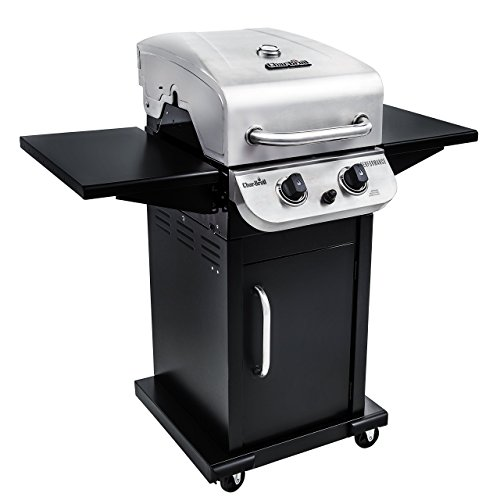 Char-Broil Performance 300 2-Burner Cabinet Liquid Propane Gas Grill- Stainless (Renewed)