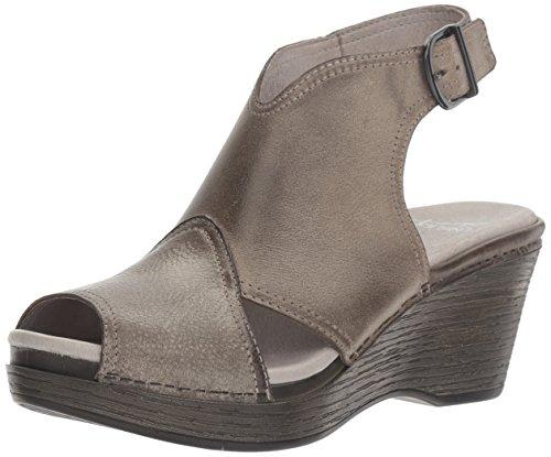 Dansko Womens Vanda Ankle Bootie  Stone Distressed  39 Eu 8 5 9 M Us