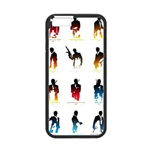 007 James Bond iPhone 6 4.7 Inch Cell Phone Case Black 218y-892349