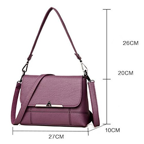 Zll Bag Shoulder Bag Women Messenger Bag Laptop Women's Simple Gray Soft Bag xn6qr8wEx1