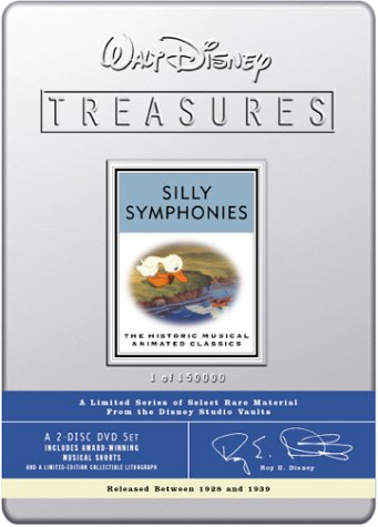 Walt Disney Treasures - Silly Symphonies by Walt Disney Video