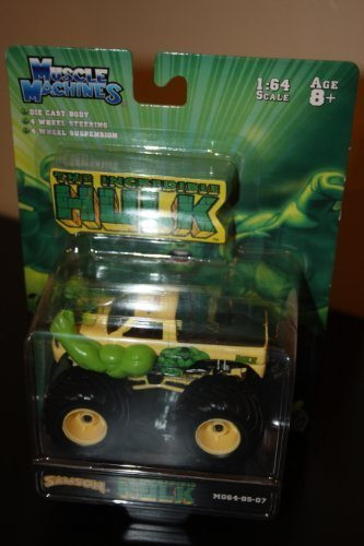 The Incredible Hulk Monster Truck 1:64 Scale