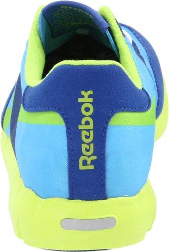 Reebok Kvinna Klassiska Racer Relä Spets-up Mode Sneaker Atletisk Blå / Royal / Ljud Grön