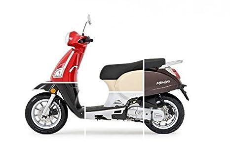 Beeline Memory 50 Incluye - Portaequipajes, colores: Rojo: Amazon.es: Coche y moto