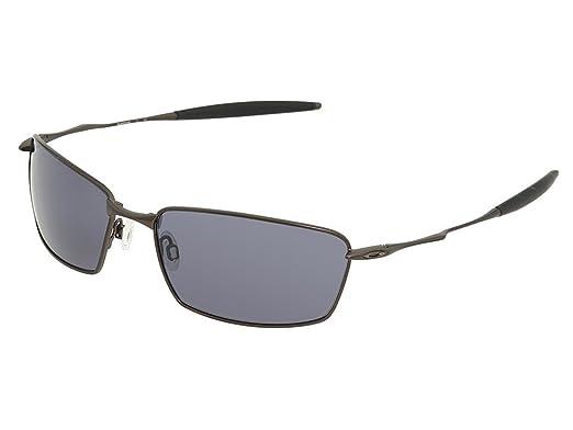 5c0bd19d8299 Amazon.com: Oakley Men's Square Whisker Sunglasses (Pewter Frame ...
