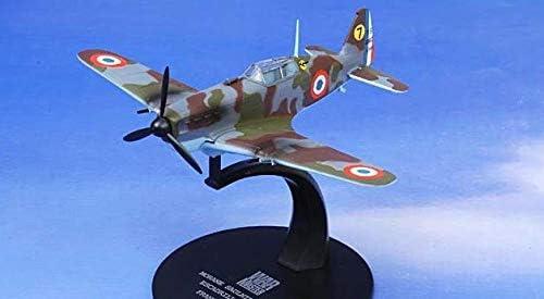 WARMASTER 1/72 完成品 フランス France Morane Saulnier MS406 1941 D-3000