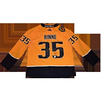 reputable site 12e4d 01e45 Pekka Rinne Autographed Signed Auto Nashville Predators ...
