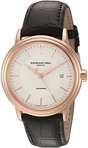 Raymond Weil Men's 2837-PC5-65001 Maestro Analog Display Swiss Automatic Brown Watch