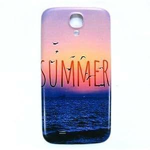 JOE Summer Beach Pattern Thin Hard Case Cover for Samsung Galaxy S4 I9500