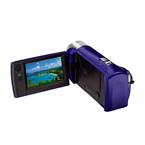 Sony HDRCX240/L Video Camera with 2.7-Inch LCD - Blue (Renewed)