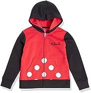 Amazon Essentials Girls Disney Star Wars Marvel Princess Fleece Zip-Up Sweatshirt Hoodies