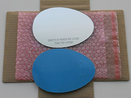 (New Replacement Mirror Glass with FULL SIZE ADHESIVE for 2007-2013 MINI COOPER Passenger Side View Right RH SEE NOTES MORE THAN 1 OPTION)