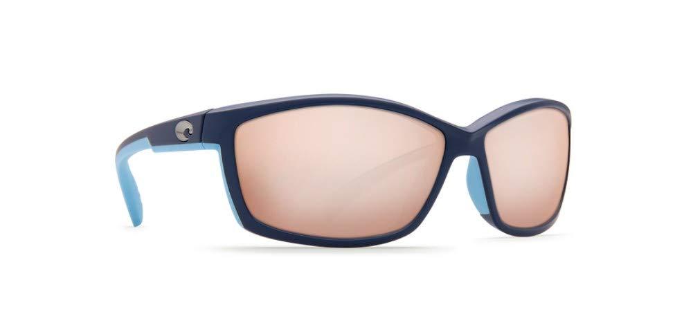fd2b4e6816 Amazon.com   Costa Del Mar MT 123 OSCGLP Manta Sunglasses Matte Heron Copper  Silver Mirror 580Glass   Sports   Outdoors