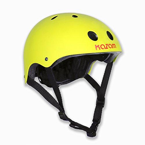 Acid Vent (KaZAM Kids Multi-Sport Helmet, Acid Yellow)
