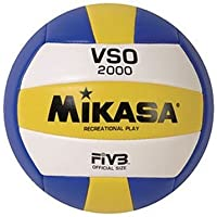 Mikasa VSO2000 FIVB Replica Volleyball,Blue