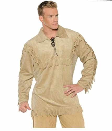 OvedcRay Frontier Davey Davy Crockett Pioneer Indian Daniel Boone Adult Costume (Marx Brothers Costumes)