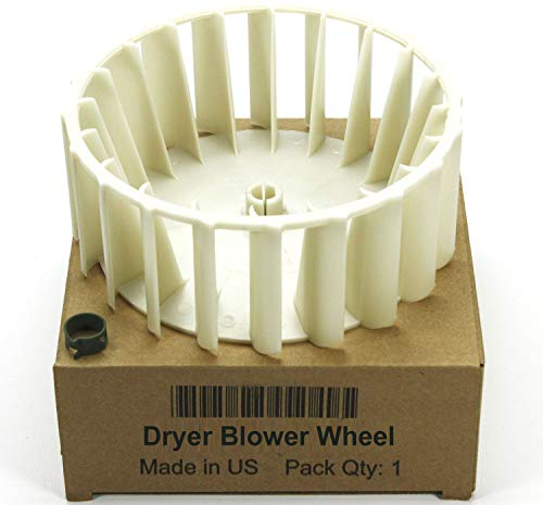 (3-12913 - FACTORY OEM GENUINE CLOTHES DRYER BLOWER WHEEL W/ CLAMP FOR MAYTAG AMANA ADMIRAL (This is OEM Factory Genuine Part - Not a generic replacement) Model:)