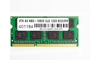 VisionTek 4GB DDR3 1333 MHz (PC3-10600) CL9 SODIMM, Notebook Memory - 900449