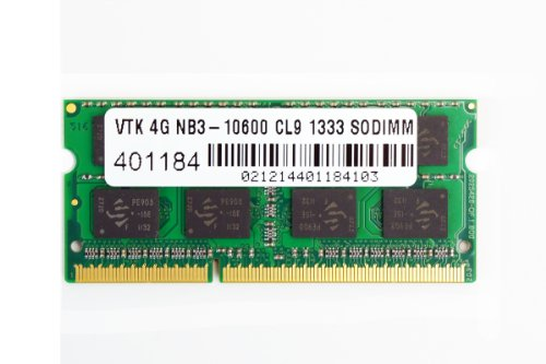 VisionTek 4GB DDR3 1333 MHz (PC3-10600) CL9 SODIMM, Noteb...