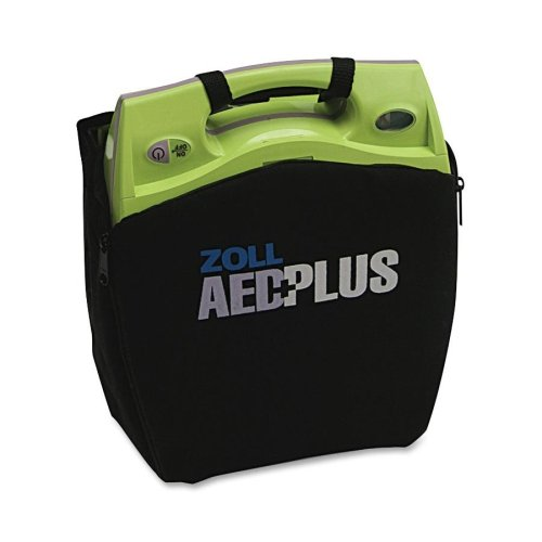 Wholesale CASE of 2 - Zoll Medical AED Plus Defib. Soft Carrying Case-Soft Carry Case, Black/Green by Zol