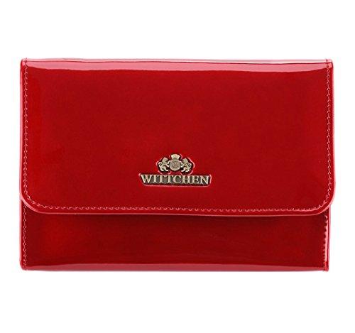Sacchetto Cosmetico Wittchen | Colore: Rosso | Vernice | Altezza (cm): 11 X Larghezza (cm): 16 | Collezione: Verona | 25-3-117-3
