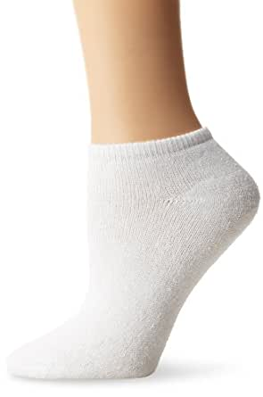 Fruit Of The Loom Women's 10 Pack Low Cut Socks,   White, Shoe Size 4-10/Sock Size 9-11