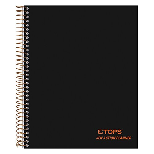 TOPS Products Journal Notetaking Planner, Wirebound, Ruled, 8-1/2